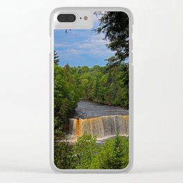 Tahquamenon Upper Falls VII Clear iPhone Case
