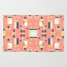 Modern Elements Pattern Art Rug