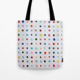 Infinite Polka Daubs Tote Bag