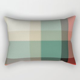 Christmas Plaid 8 Rectangular Pillow