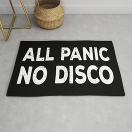 All Panic No Disco II Rug