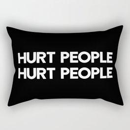 HURT PEOPLE HURT PEOPLE Rectangular Pillow