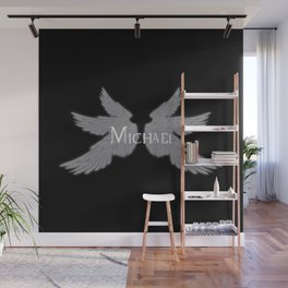 Archangel Michael with Wings Wall Mural