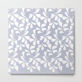 Leaf Laces Metal Print