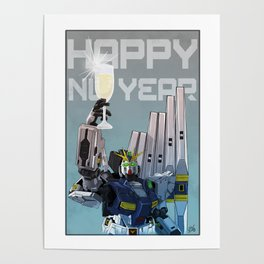 "Happy ""Nu"" Years Poster"