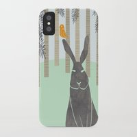 rabbit iPhone & iPod Cases featuring Rabbit by Dream Of Forest