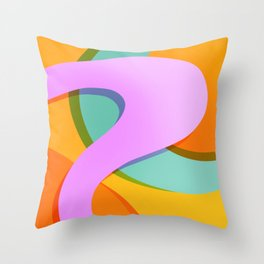 Spring Color Palette #001 Throw Pillow