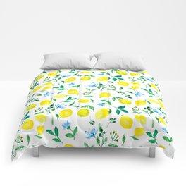 Lemon, lemons Comforters
