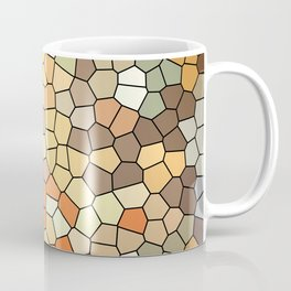 Earth elements stained glass Coffee Mug