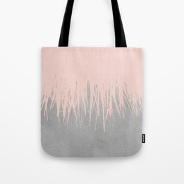 Concrete Fringe Dogwood Tote Bag