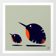 Of a Feather 2 Art Print