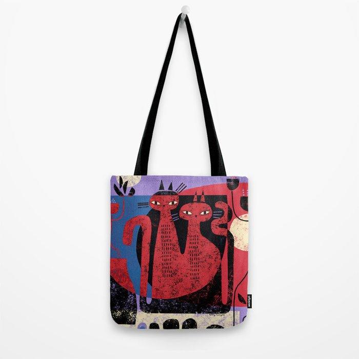 CAT ARRANGEMENT Tote Bag