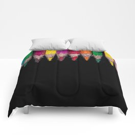 Bubbly Crayons Comforters