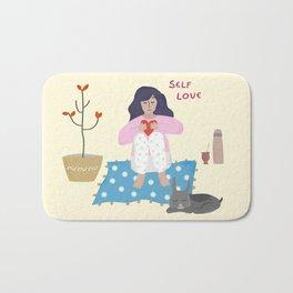 Self love Bath Mat