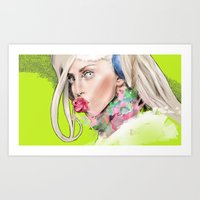 artrave Art Prints featuring ArtRAVE by Dafni
