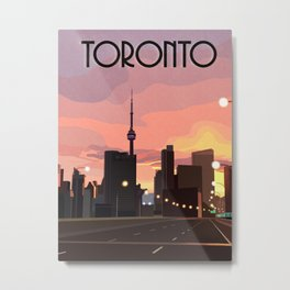 Toronto Sunrise Metal Print