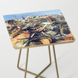 Junk Pile Side Table