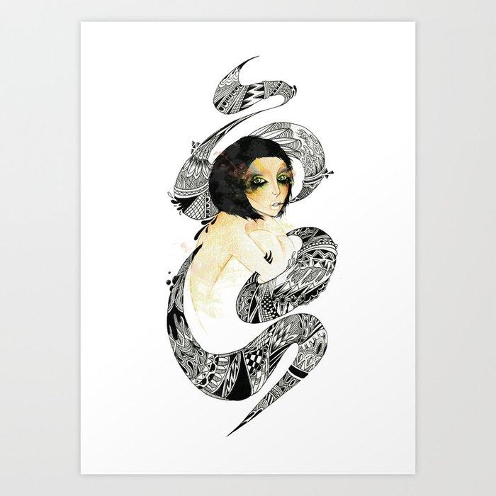 SICK. Art Print