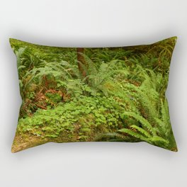 In The Cold Rainforest Rectangular Pillow