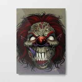 Who's Laughing Now Metal Print