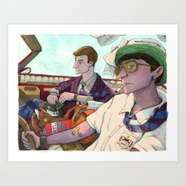 The Problem with Rich kids Art Print