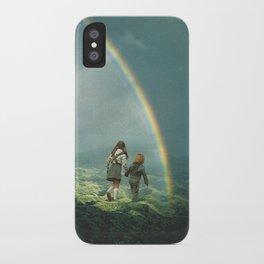 Rainbow of hope iPhone Case