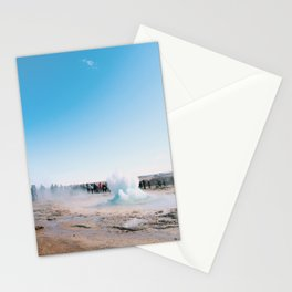 Breaking the surface Stationery Cards