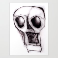 Rage of the truncated Art Print