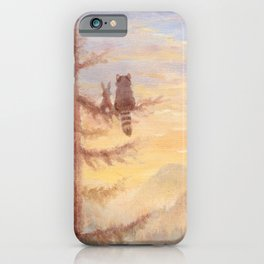 Isabella in the trees iPhone Case