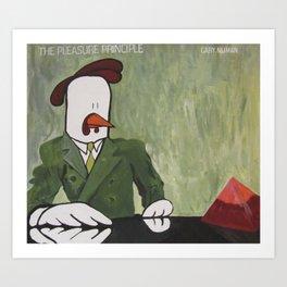 Gary Numan - The Pleasure Principle Art Print