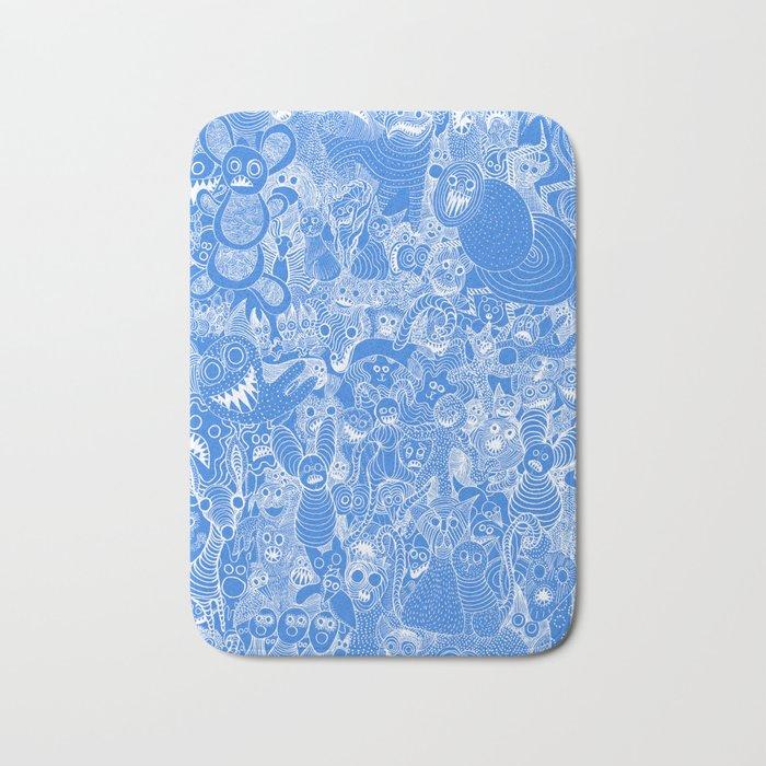 Animalesque - Blue Bath Mat