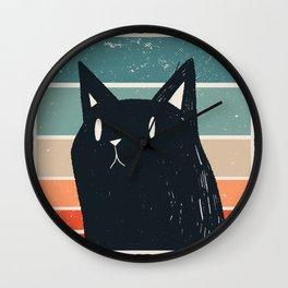 Beautiful cat Wall Clock