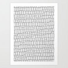 pattern 0054 Art Print