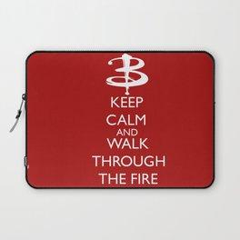 Walk through the fire Laptop Sleeve