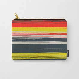 Linear Colors Carry-All Pouch