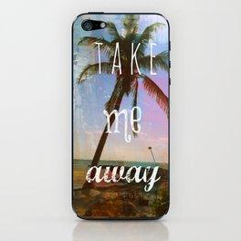 Take Me Away iPhone Skin