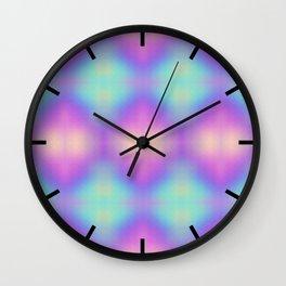 Gradient background design Wall Clock