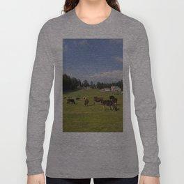 mini switzerland in india Long Sleeve T-shirt