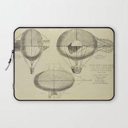 Mathieu's Airship Project Laptop Sleeve