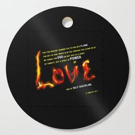 Love's Flame Cutting Board