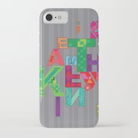 typo iPhone & iPod Cases featuring typo by nuage rouge