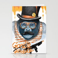 gangster Stationery Cards featuring Gangster by dogooder