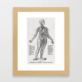 Bloody Woman Framed Art Print