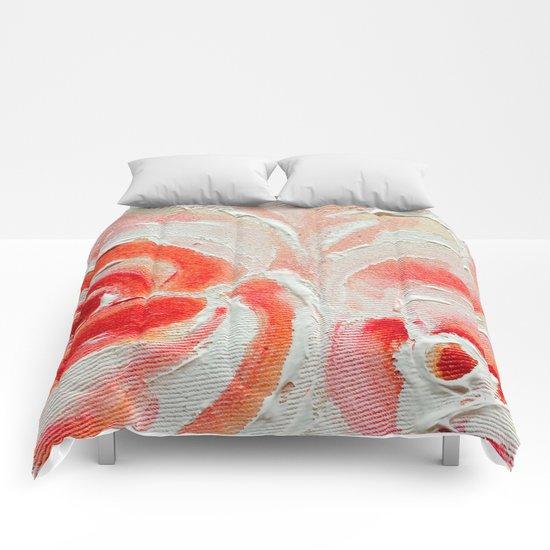 Peach Plums Comforters