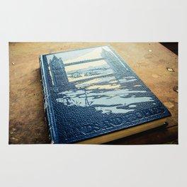 Vintage Schoolbooks, Left Behind Rug