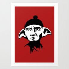A Free Elf Art Print