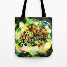 Animal - Grunge Watercolor - Leopard Tote Bag