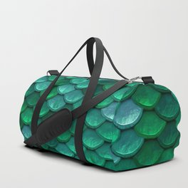 Green Penny Scales Duffle Bag