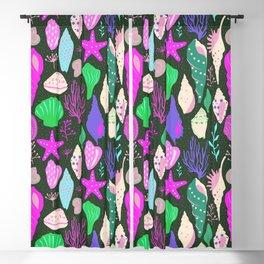 seashell pattern  Blackout Curtain