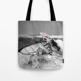 surf santa - wind surf Tote Bag
